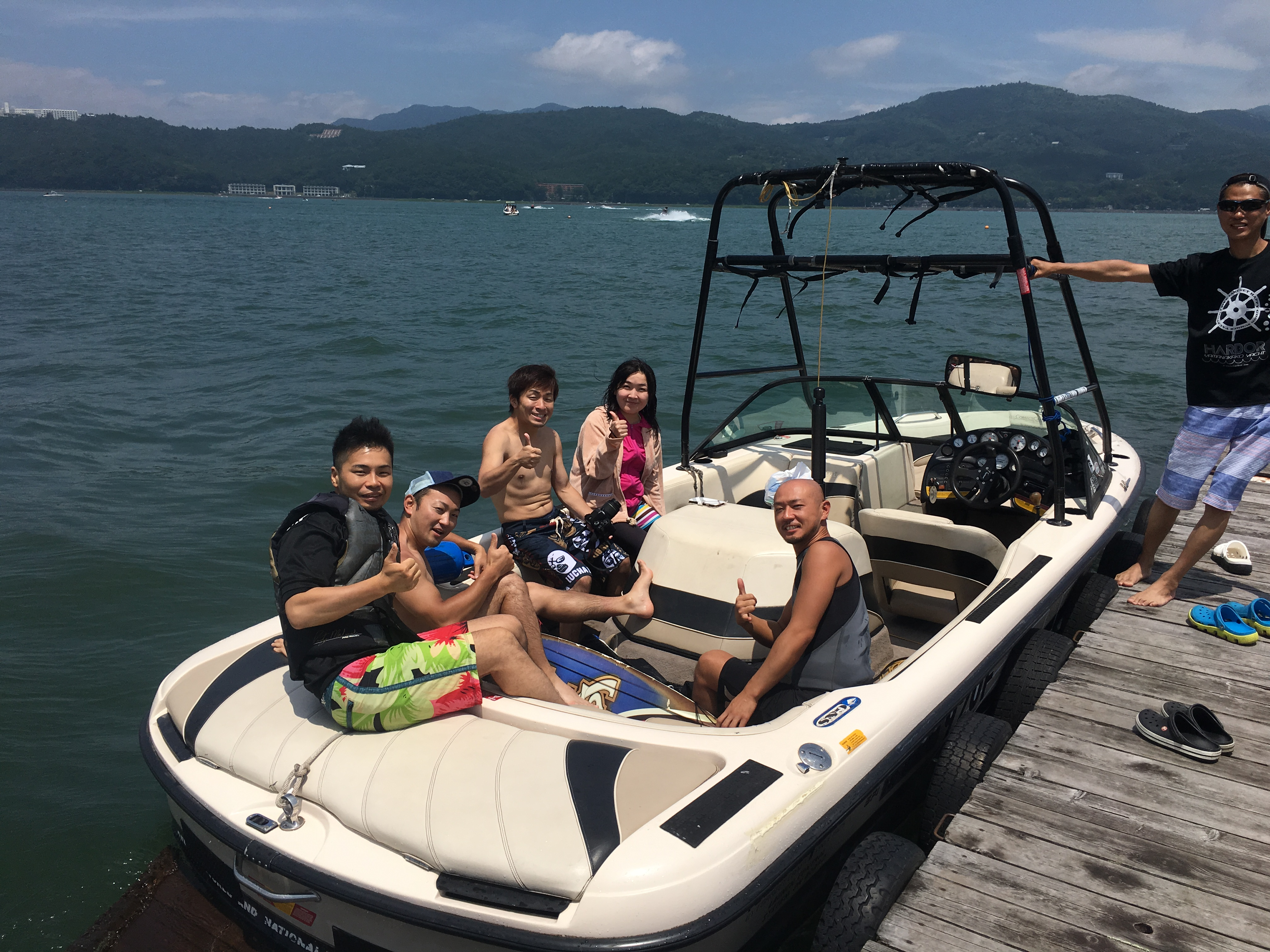 山中湖ヨットハーバー